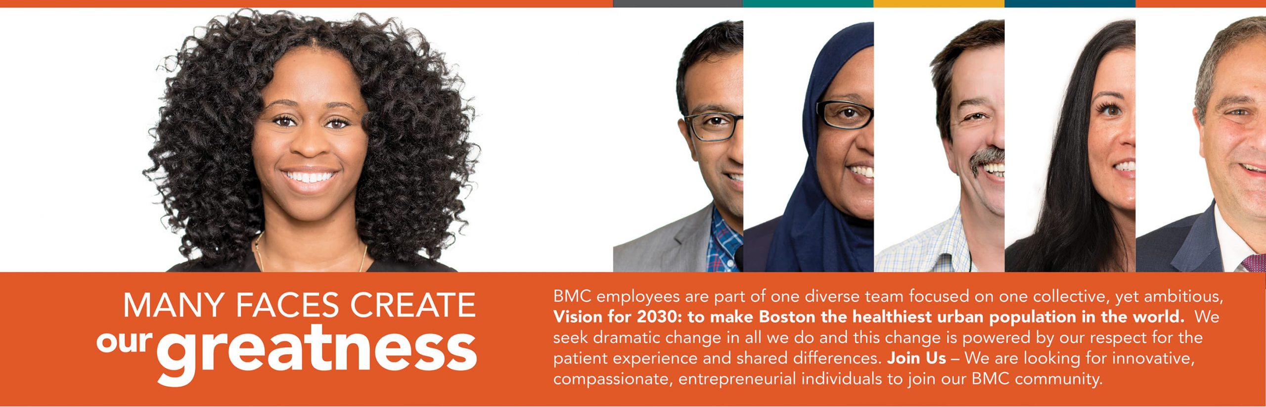 Faces of Greatness at Boston Medical Center